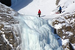 Ice Climbing (5of7) Tags: ice climbing outdoor mountain extreme sport people banff alberta canada canadianrockies iceclimbing banffnationalpark rockymountains fav snow winter 4fav