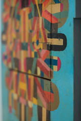 Panels on panels (T3MPL3) Tags: ryan gander night museum birmingham art gallery canon 70d 50mm indoor interior exhibition city uk england bham