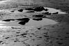 Black Rocks (johnlawson367) Tags: bw blackwhite britain pembrokeshire rockpools saundersfoot uk wales xmas2016 beach coast monochrome rocks sea