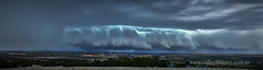 Shelf Cloud over Adelaide (Valley Imagery) Tags: storm southaustralia sa thunderstorm city shelf cloud rain panorama