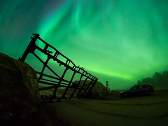 Arctic Unconventions / The Gate (S Vilhunen) Tags: aurorarevontulet arcticunconventions rovaniemi fall syksy lapland
