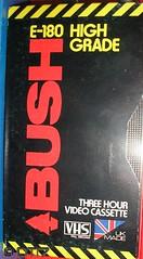 Bush - Blank Tape (daleteague17) Tags: blank vhs tapes blankvhstapes pal palvhs videotape blankvideotape bush
