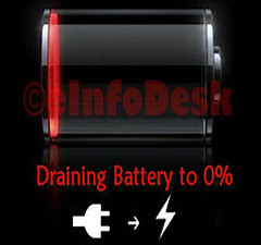 Draining battery (eInfoDesk) Tags: 10 ways make your phone live longer methods steps care