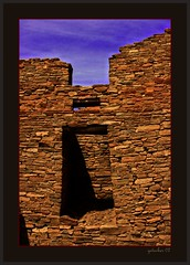 Chaco Canyon 07-4a (the Gallopping Geezer '4' million + views....) Tags: park house history abandoned home monument stone rural canon ruins village decay indian culture roadtrip canyon historic nativeamerican national worn weathered wilderness earlyamerican chacocanyon derelict decayed geezer americanindian 2007 corel dwelling historicsite west07927