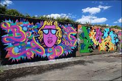 Big Dog / Jonda (Alex Ellison) Tags: urban its graffiti boobs lakeside halloffame graff essex hof eastlondon bigdog jonda