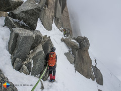 Into the clouds (HendrikMorkel) Tags: mountains alps mountaineering chamonix alpineclimbing arêtedescosmiques arcteryxalpineacademy2015
