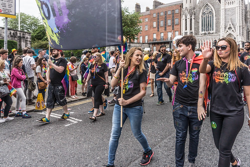 DUBLIN 2015 LGBTQ PRIDE PARADE [THE BIGGEST TO DATE] REF-105942