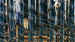 Thread (Filippo Mch) Tags: light texture abandoned luz geometrico thread lines factory minimal diagonal hilo astratto weaving luce fabrica linea filo lineas diagonale trama abandonado linee fabbrica abstrract abbandonato tessitura geomtetric