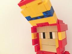 LEGO Iron Man Mark VI (Face Plate Open) (kevmementomori08) Tags: lego chibi ironman marvel tonystark moc markvi legomoc mark6 legochibi legoironman ironmanmarkvi ironmanmark6