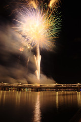 DSC_1566 (georgerocheleau) Tags: arizona holiday water night fireworks outdoor july4 tempe tempetownlake