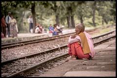 Waiting for the city loop @Yangon / Myanmar (ayechan26) Tags: people nikon flickr yangon myanmar dslr lightroom d600 28300mmf3556