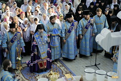 48. The blessing of water on the day of the Svyatogorsk icon of the Mother of God / Водосвятный молебен в день празднования Святогорской иконы Божией Матери