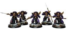Emperors Children Phoenix Terminators (ThirdEyeNuke) Tags: phoenix studio children chaos space 40k horus warhammer marines heresy emperors terminators thirdeyenuke