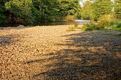 Pebble Shore Shadows (Dave Roberts3) Tags: water wales landscape rocks stones ngc pebbles newport shade gwent supershot citrit naturethroughthelens ebbwriver