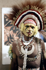 27-556 (ndpa / s. lundeen, archivist) Tags: man color film face festival fiji 35mm necklace costume clothing traditional nick feathers culture makeup suva southpacific warrior tradition 1970s facepaint 27 performer 1972 necklaces headdress dewolf oceania pacificartsfestival pacificislands festivalofpacificarts southpacificislands nickdewolf photographbynickdewolf festpac pacificislandculture southpacificfestival reel27 southpacificartsfestival southpacificfestivalofarts fiji72