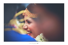 Candid again!! (Sanz'Y) Tags: sanzy canon india wedding candid bride smile portrait traditional moment event morning reactions colors tamilnadu