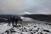 096-20161119_Ben Gullipen-Stirlingshire-view W from summit down Loch Venachar, with Ben Venue (in cloud, centre L)-L-R Julia Kaye, Martin & Sheila Brown (Nick Kaye) Tags: scotland stirlingshire landscape mountains family julia friends