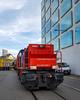 Shunting the mill: the power (3/3) (jaeschol) Tags: am843 am843062 dieselhydraulischelokomotive eisenbahn europa kantonzürich kontinent kreis5 lokomotive rangieren schweiz stadtzürich swissprimetower swissmill switzerland transport