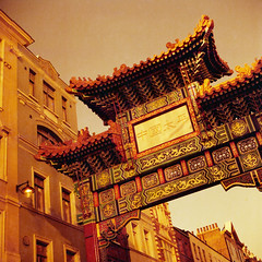 #london #redscale #chinatown (Laszlo_Gerencser) Tags: london redscale lomography rx iso 50200 film analog chinatown