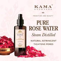 Pure Rose Water Toner | Kama Ayurveda (kama.ayurveda) Tags: pure rose water toner ayurveda