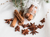 Spice it up (V Photography and Art) Tags: spice cinnamon staranais jar snow stilllife christmas festive seasonal winter macro closeup white green spices product naturallight