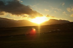 Sunrise (olafurtryggvason1) Tags: sun sunrise sunset mountain iceland sky cloud morning landscape outdoor outside