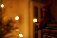 Christmas is a time of waiting (Basse911) Tags: julaftonsmorgon aatonaamu morning christmas joulu jul elf tomte tonttu christmastreebokeh finland suomi nordic