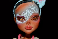 Hansela (saijanide) Tags: monster high doll custom ooak repaint artist customized mh saijanide cleo de nile fairytale fairy grimm hansel gretel gingerbread sweets candy ginger bread house