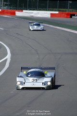Sauber Mercedes-Benz C11 (belgian.motorsport) Tags: spa classic 2011 francorchamps sauber mercedesbenz c11 groupc racing