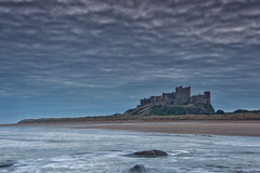 Before sunrise at Bamburgh Castle. (paul downing) Tags: pauldowning pd1001 pauldowningphotography nikon d7200 bamburgh castle northumberland northsea sunrise hitech gnd 12 filters