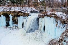 Minnehaha Falls MN in Winter (Atibordee_K) Tags: minnesota minnehaha minneapolis parks winter snow frozen freeze usa waterfalls