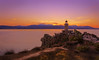 vantage point (Ifigeneia Vasileiadis) Tags: lighthouse beacon sunset purple mauve lilac cliff mountainline vantagepoint nikond7200 sigma18250