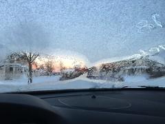 Wiev through a icy window. -20 this morning (lena.fredin) Tags: