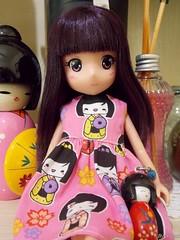 Midori =^-^= (Graciani Crafts) Tags: midori kokeshi anime mangás fotos dolls doll boneca bonecas kawaii