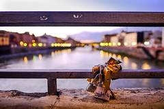 Love, forever (binoguzzi) Tags: love amore pontevecchio firenze florence lucchetti promessa arno river fiume ponte paesaggio street xt10 xf16 xf16mm fujixt10 fujifilm fuji fujifilmxseries fujixuser toscana fujinon fujifirenze