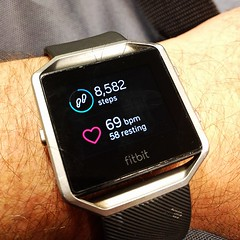 January 3: Fitbit (earthdog) Tags: 2017 fitbit watch fitnesstracker arm wrist text number word project365 3652017 lge nexus 5x lgenexus5x androidapp cameraphone moblong cellphone