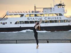 Sail Away - Ballet Inc (Narratography by APJ) Tags: apj dance events narratography newyorkcity ny liberty statuecruises pointe ballet ballerina batterypark
