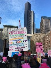 favorite sign (Mark Egger) Tags: womensmarchseattle seattle