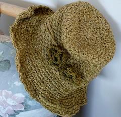 My Hemp Hat (sallyNZ) Tags: scavenger1 hat hemp sunhat