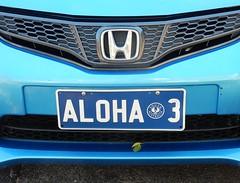 Hawaiian Greeting From Hyundai (mikecogh) Tags: glenelg aloha greeting hawaiian hyundai logo numberplate personalised 3