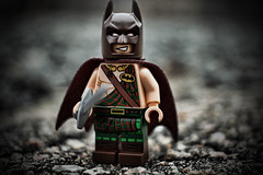 (Silverio Photography) Tags: batman lego minifig kilt tartan canon 60d 24mm pancake primelens comics toy topaz adjust photoshop elements