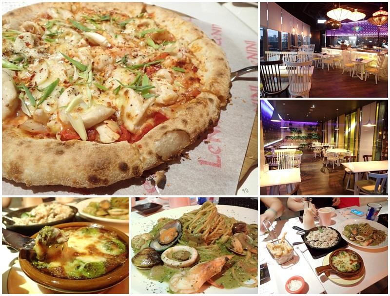 捷運淡水站美食.聚餐.樂尼尼義式餐廳.披薩page