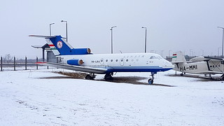 Yakovlev Yak-40 c/n 9440837 Linair registration HA-LRA