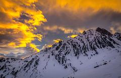 When the snow is coming (aurlien.leroch) Tags: europe france pyrénées lamongie winter hiver snow neige sunrise nikon d7100 montagnes