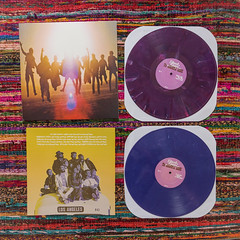 edward sharpe + magnetic zeros (jojoannabanana) Tags: square purple vinyl lp swirl trippy coloredvinyl edwardsharpeandthemagneticzeros edwardsharpe 3652015