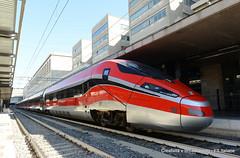 Frecciarossa1000- Stazione Termini (Ferrovie dello Stato Italiane) Tags: roma milano stazione treno trenitalia treni ferrovie ferroviedellostato frecciarossa frecciarossa1000