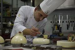 Corso di Torte moderne e monoporzioni con Mario Ragona presso Tarantini Srl di Anzio ( Roma )  Sede FIP Lazio