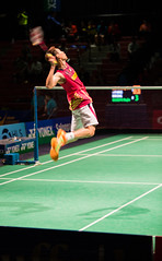 Lee Chong Wei Jump Smashing (KW0326) Tags: county new york england college island gold us suffolk community long open grand prix lee malaysia ms brentwood wei chong badminton rajiv qf bwf 2015 ouseph usopen2015yonexusopen