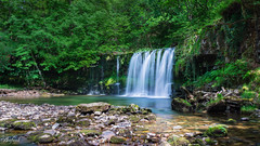 LE Waterfall (C.A.Photogenics) Tags: colour fall water wales contrast long exposure sony brecon beacons a6000