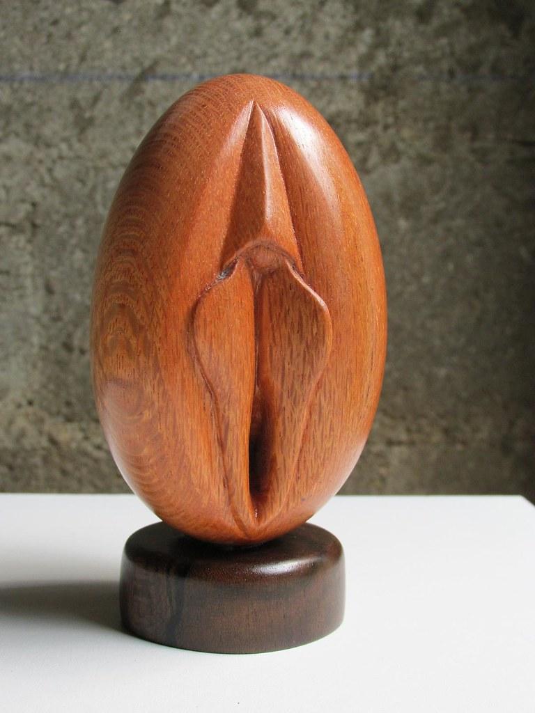 Erotica wooden eggs tits